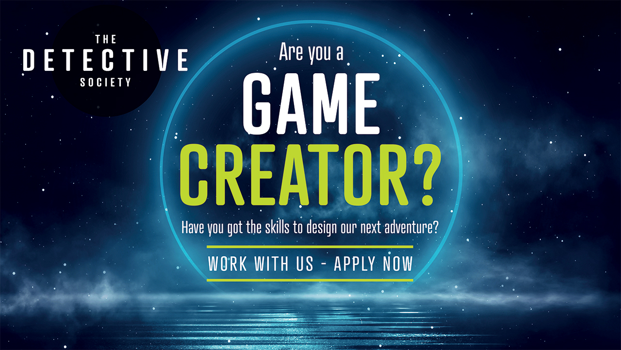 "An starry image with the words ""Are you a game creator?"" overlayed"